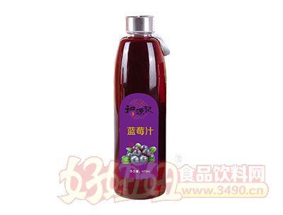和源记蓝莓汁420ml
