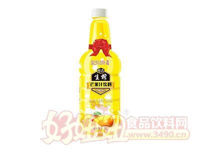 梵创生榨芒果汁饮料1.5L
