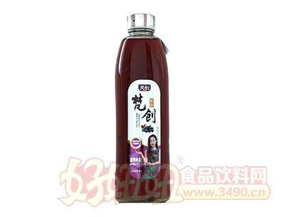 梵创蓝莓枸杞汁918mL