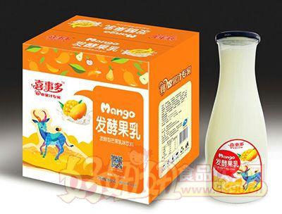 喜事多发酵型芒果乳味饮料1.5lx6瓶