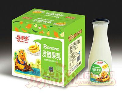 喜事多发酵型香蕉乳味饮料1.5lx6瓶
