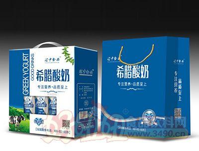 江中食品希腊酸奶砖石品质礼盒装