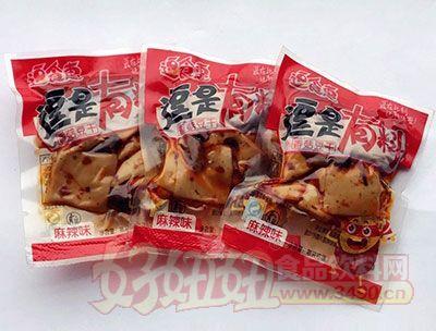 逗食惠逗是有料麻辣味香菇豆干散装称重
