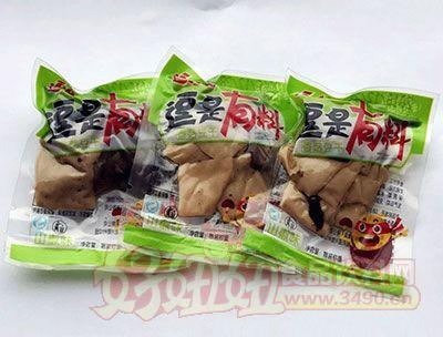 逗食惠逗是有料山椒味香菇豆干散装称重
