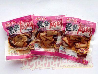 逗食惠逗是有料香辣味香菇豆干散装称重