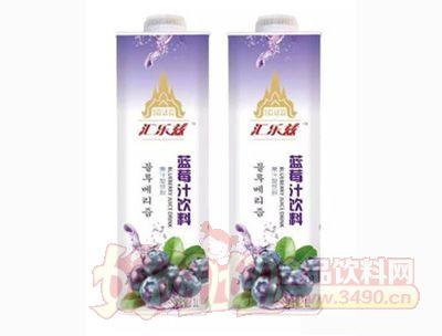 汇乐兹生榨蓝莓汁1Lx6盒装