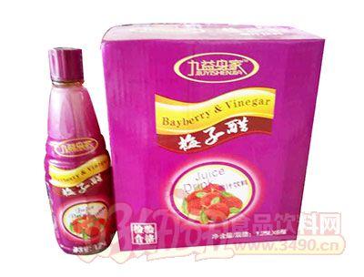 九益身家梅子醋果汁饮料1.25L×6瓶