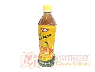 架势堂柠檬茶味饮料550ml