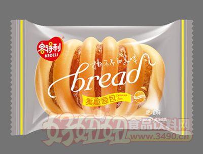 福建龙海客得利香橙味撕趣面包
