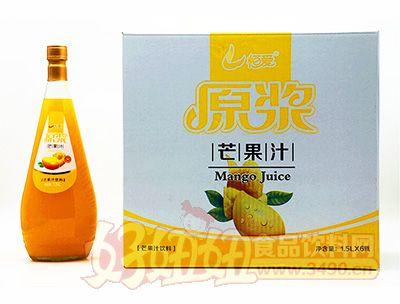 恒爱原浆芒果汁1.5lx6瓶