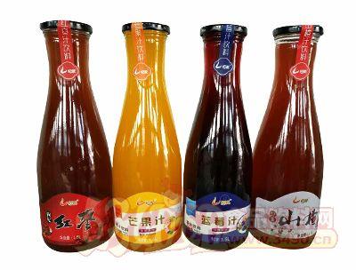 恒爱1.5升大口各种口味果汁饮品