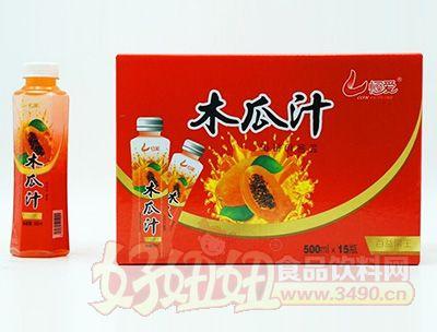恒爱木瓜汁500lx15瓶
