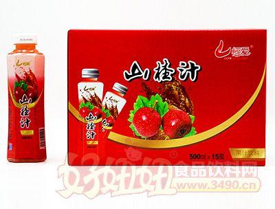 恒爱山楂汁500lx15瓶
