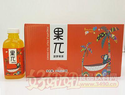恒爱果π-菠萝果茶500mlx15瓶