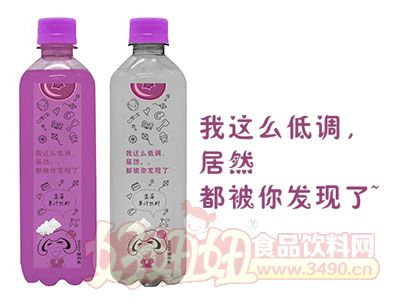 懋源蓝莓果汁饮料瓶装480ml