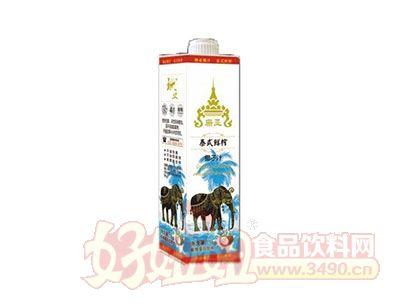 珊亚泰式鲜榨椰子汁1L