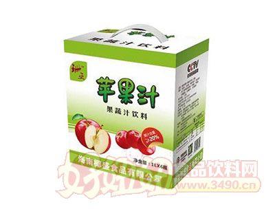 珊亚苹果汁1Lx6瓶