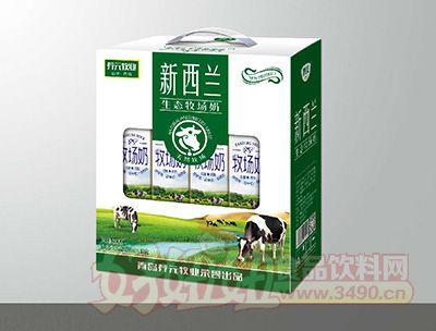 青岛养元牧业新西兰生态牧场奶250mlx12盒