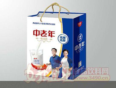 青岛养元牧业中老年低糖低脂牧场奶礼盒