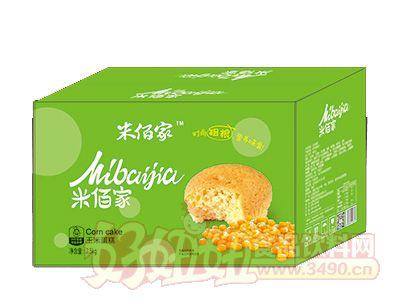 米佰家玉米蛋糕2.5kg箱装