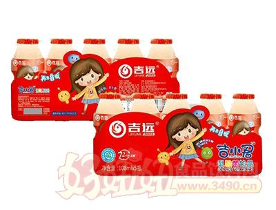 吉远吉小君乳酸菌饮品108mlx5瓶
