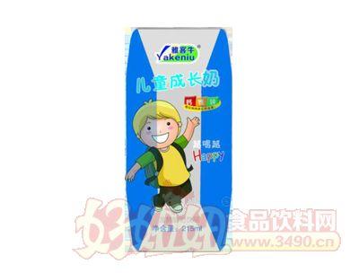 雅客牛儿童成长牛奶215ml