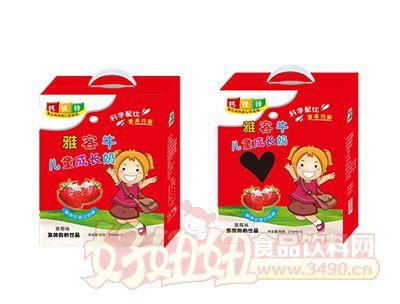 雅客牛儿童成长牛奶草莓味215ml*12