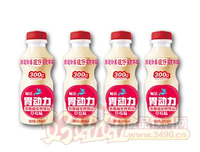 胃动力乳酸菌草莓味340ml