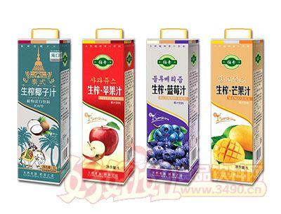 礼尚生榨果汁系列1L