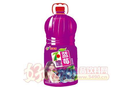 百事康蓝莓果味饮料2.58l