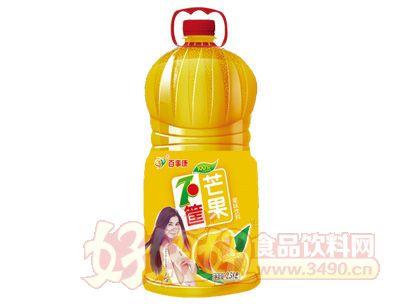 百事康芒果味果味饮料2.58l