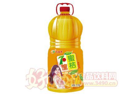 百事康蜜桔味果味饮料2.58l