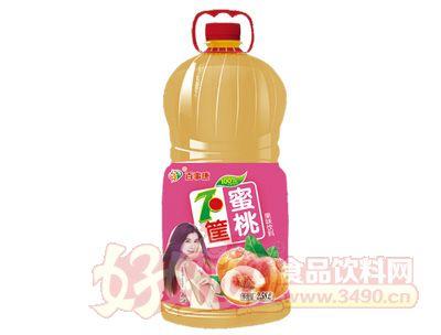 百事康蜜桃味果味饮料2.58l