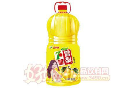 百事康雪梨果味饮料2.58l