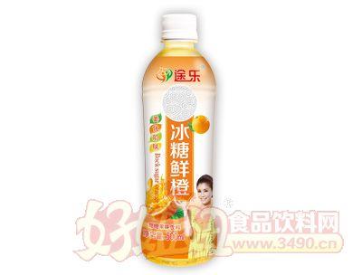 途乐冰糖鲜橙饮料500ml