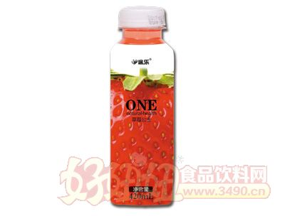 途乐草莓公主饮品420ml