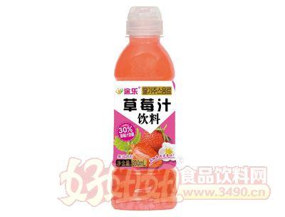 途乐草莓汁饮料600ml