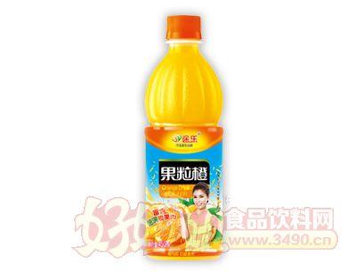 途乐果粒橙果汁饮料450ml