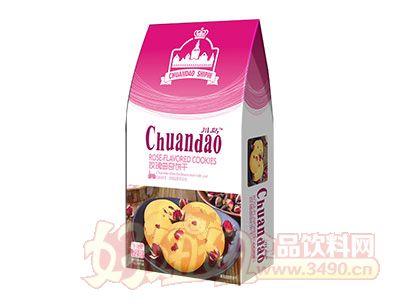 川岛玫瑰曲奇饼干72g