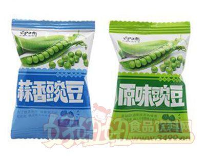 印味蒜香原味青豌豆358g