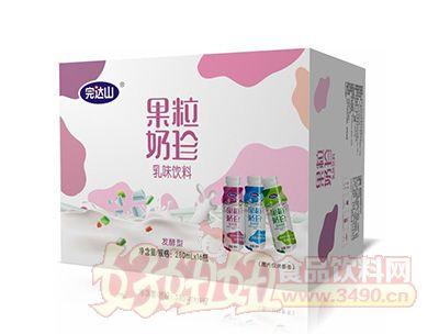 完达山果粒奶珍发酵型乳味饮料280mlx16瓶