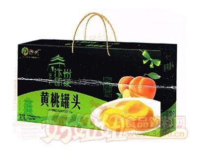 汴州印象黄桃罐头