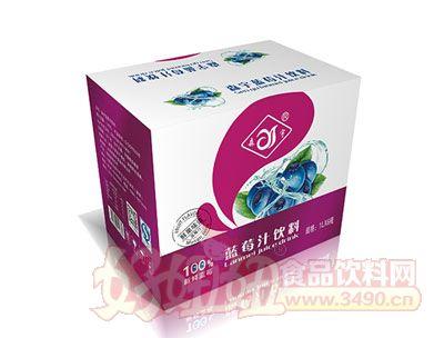 森宇蓝莓汁饮料1L*6瓶