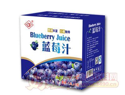 森宇蓝莓汁1.5L*8瓶