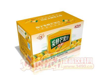 森宇发酵芒果汁420ml*15瓶