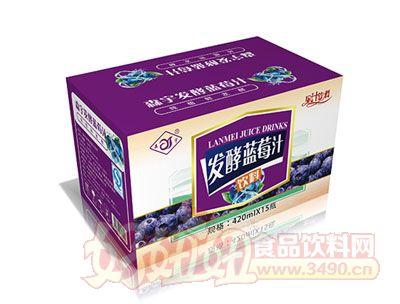 森宇发酵蓝莓汁420ml*15瓶