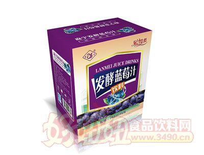 森宇发酵蓝莓汁988ml*6瓶
