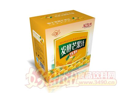 森宇发酵芒果汁988ml*6瓶