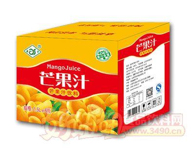 森宇芒果汁1.5L*6瓶