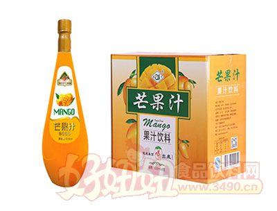 森宇芒果汁果汁饮料828ml*8瓶